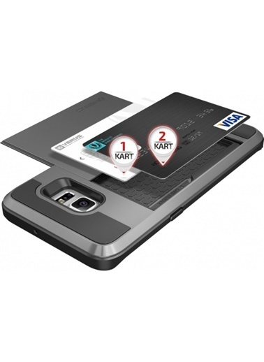 Galaxy S6 Edge Plus Damda Slide Kılıf Crimson Red-Verus